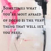 Liberarsi dalla paura